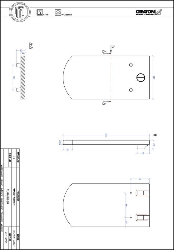 CAD файл черепиці MANUFAKTUR сегментна форма TURMBIBER