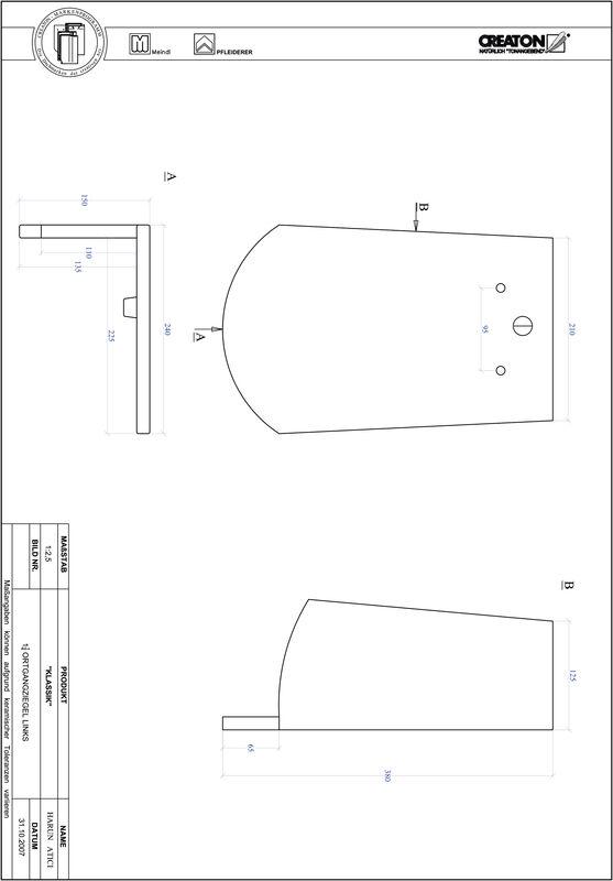 CAD файл черепиці KLASSIK напівкругла форма RUND-OGL-1-1-4