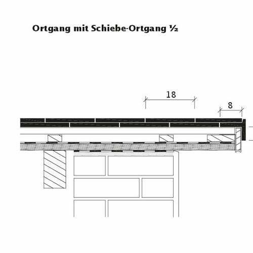Технічне креслення черепиці KLASSIK Schiebeortgang-1-2