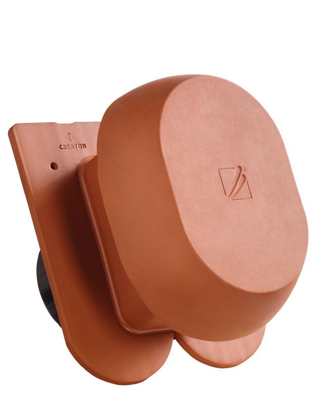KLASSIK закруглена форма  SIGNUM керамічний камін вентиляційний DN 200 мм з адаптером