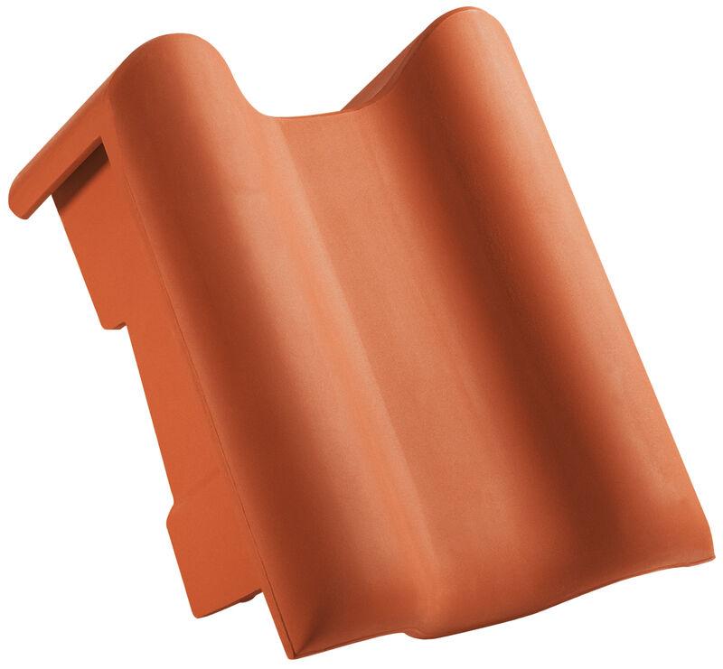 PRE черепиця для односхилого даху бічна права стандартні розміри