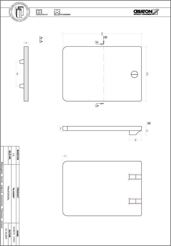 CAD файл черепиці KLASSIK напівкругла форма RUND-TRAUFZIEGEL