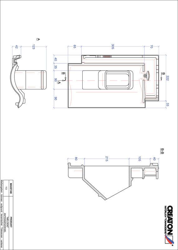 CAD файл черепиці MELODIE антенна черепиця ANTENNE
