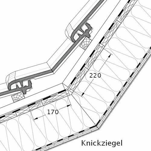 Технічне креслення черепиці MZ3 NEU KNZ