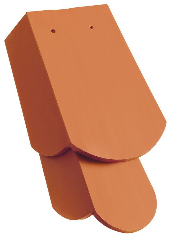 KLASSIK закруглена форма черепиця бічна права 1 1/4 з довгим слізником бл. 11 см