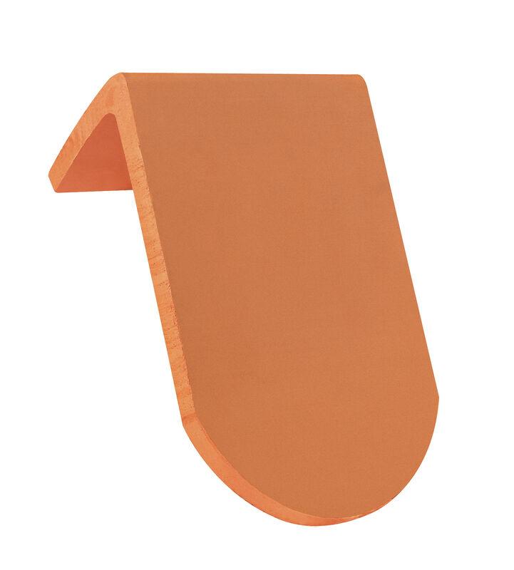 KLASSIK закруглена форма черепиця для односхилих дахів коротка