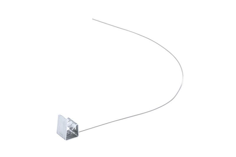 Скоба з нержавіючої сталі для різаної черепиці 10-13 мм
