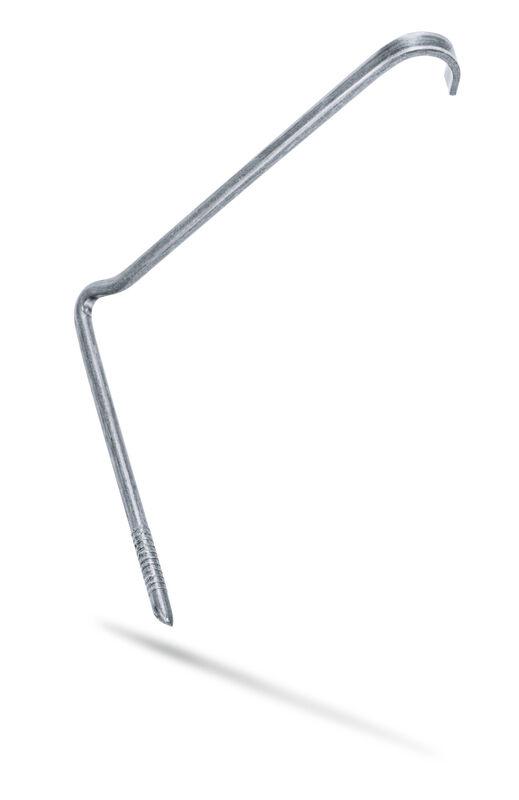 Скоба зливова забивна цинково-алюмінієва лата універсальна (TIT)