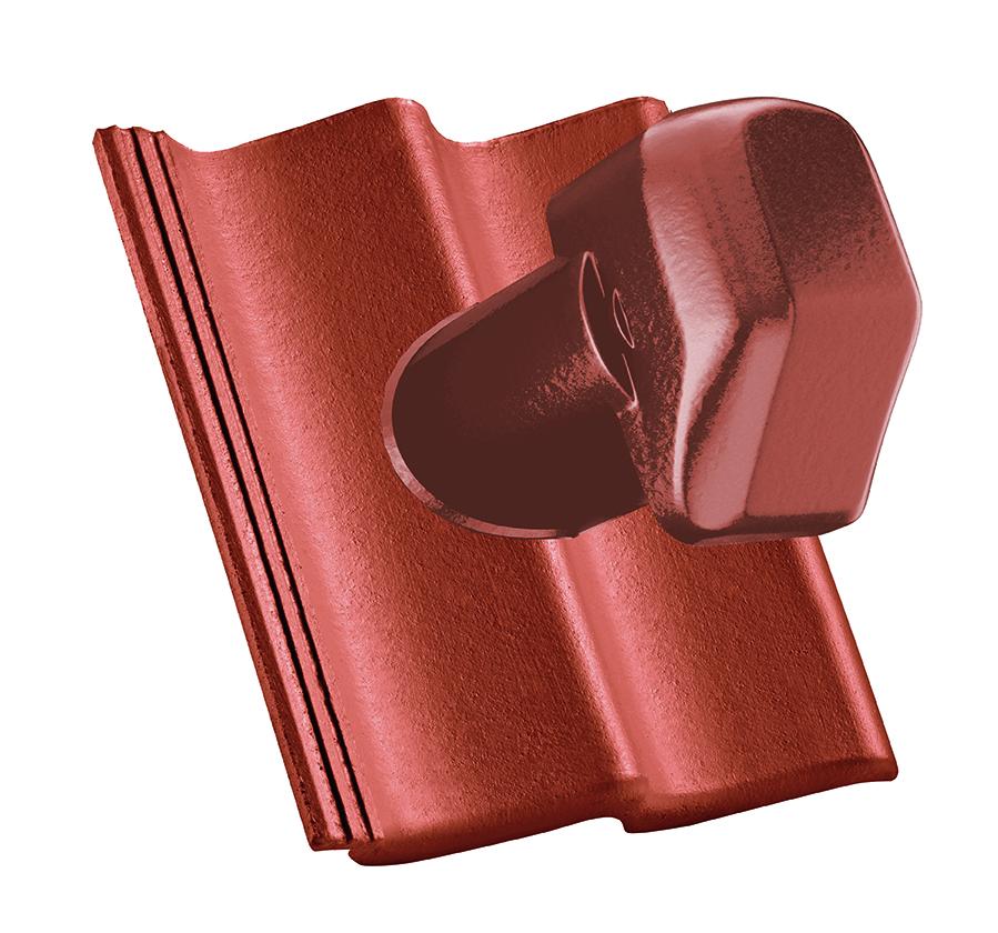 Черепиця для каналів Ø 125 мм (цементно-пластикова)